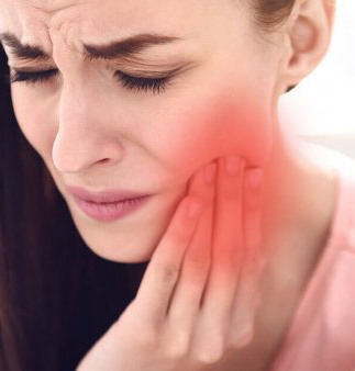 adda dental patient having pain because of Temporomandibular joint (TMJ)